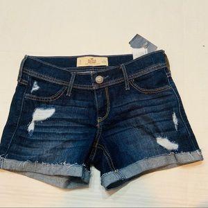 Hollister NWT Denim Shorts